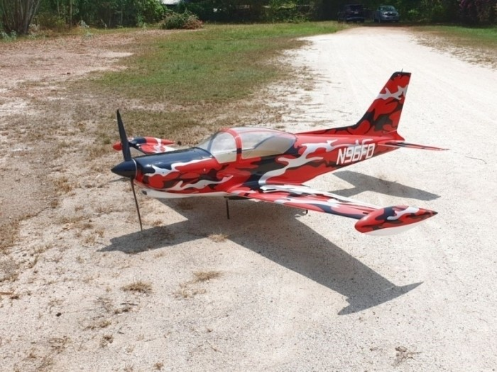 CARF-Models SIAI Marchetti SF-260 (Red Camouflage)