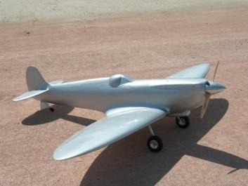 CARF-Models Spitfire Silber