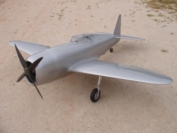 CARF-Models P-47 Thunderbolt (Silber)