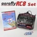 Flugsimulator aerofly RC8 (DVD für Win)+Controller