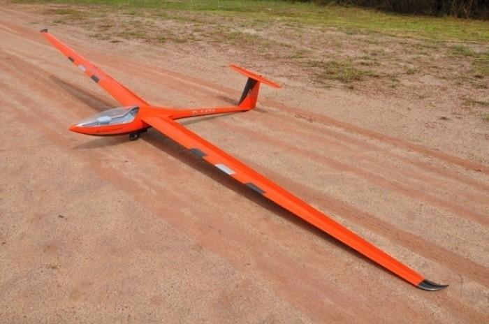 "CARF Models Segler DG-800 S ""Infinity Orange"