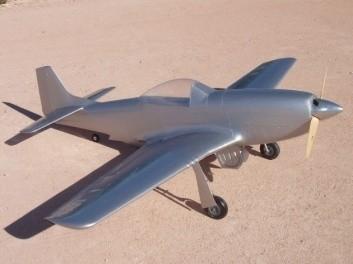 CARF-Models Mustang Silber
