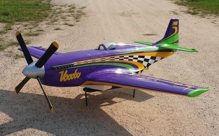 """P-51 Mustang Reno-Racer """"VOODOO"""