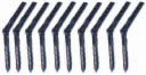 Einbohrscharniere 3,5 x 45mm  (12Stk.)