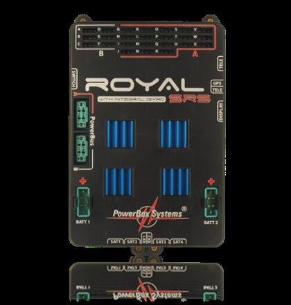 PowerBox Royal SRS incl. LC-Display, GPS