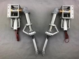 Elektrisches Einziehfahrwerk für CARF-Models AT-6
