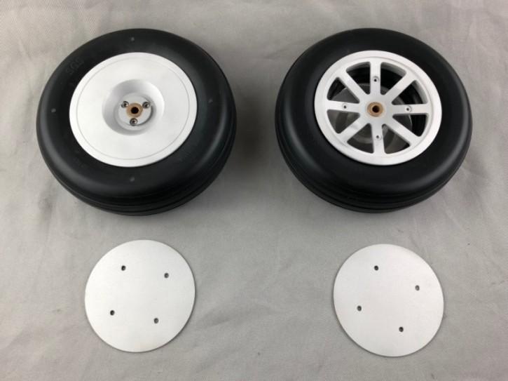 Scale-Räder für CARF-Models AT-6