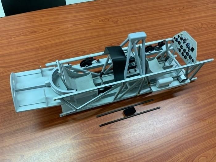 Scale-Cockpit für CARF-Models AT-6