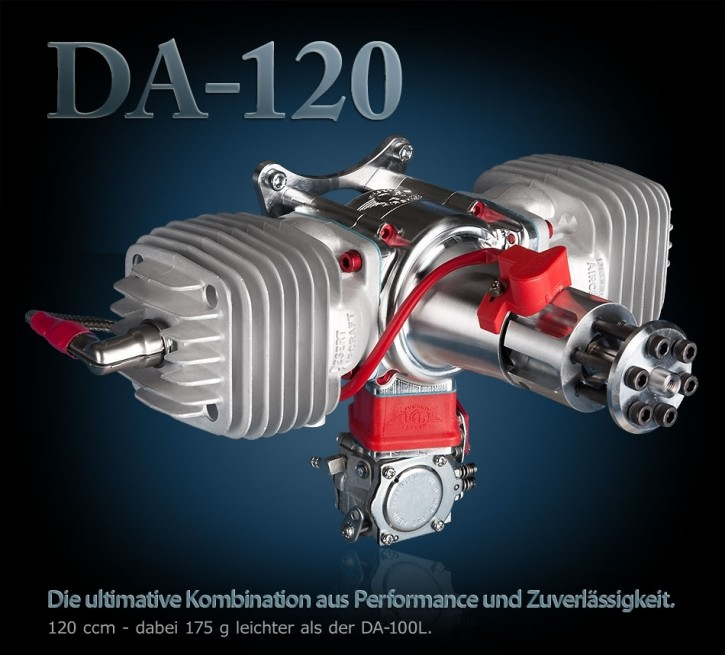 Benzinmotor DA-120 mit Zündung