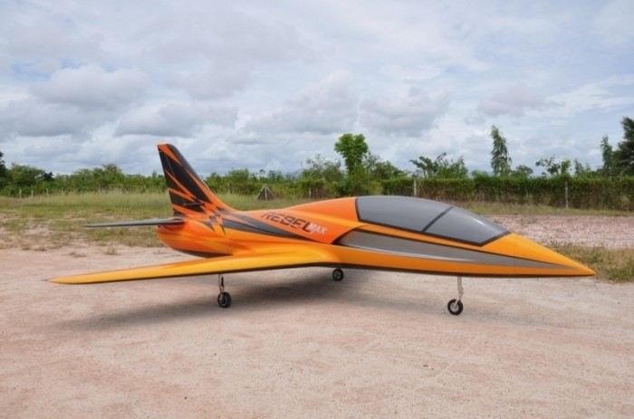 CARF Models REBEL MAX (Launch Scheme Orange)
