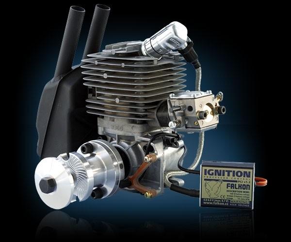 Benzinmotor Titan ZG 62PCI mit Zündung