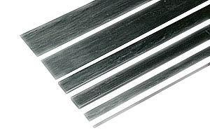 Kohlefaser-Flachstab 3 x 0.6 x 1000mm