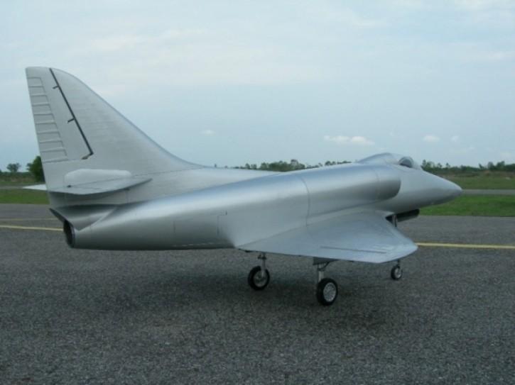A4 Skyhawk V2 (All Silver)