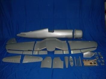 CARF-Models Corsair F4U-1D (ARF-Steckflügel)Silber