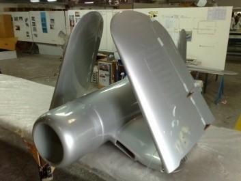 CARF-Models Corsair F4U-1D (ARF-Klappflügel)Silber