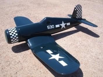 CARF-Models Corsair F4U-1D (ARF-Klappflügel) Blau
