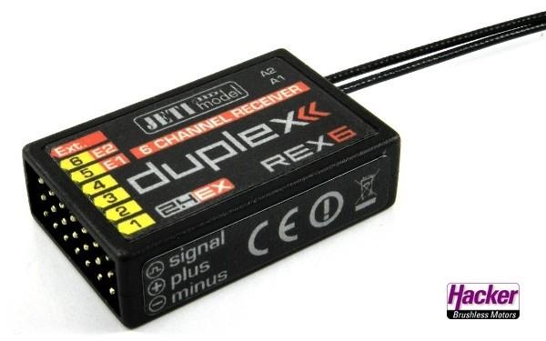 JETI Duplex 2.4EX Empfänger REX6