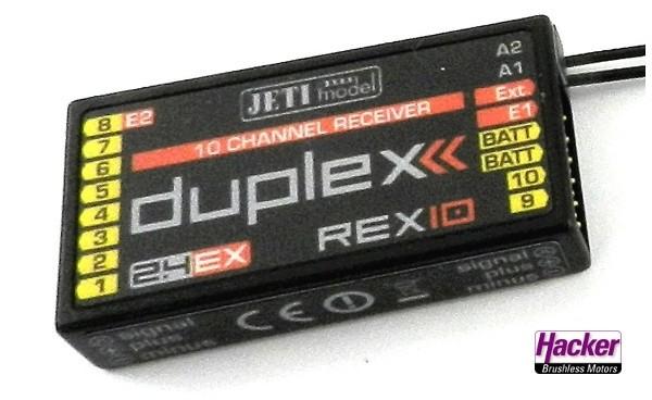 JETI Duplex 2.4EX Empfänger REX10