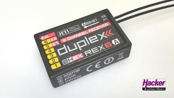 JETI Duplex 2.4EX Empfänger REX6 Assist