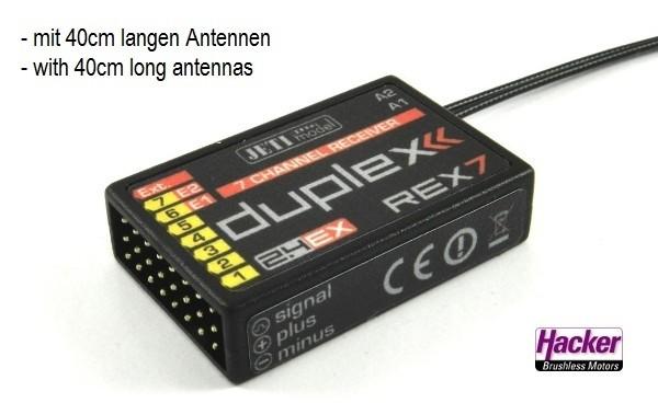 JETI Duplex 2.4EX Empfänger REX7 A40