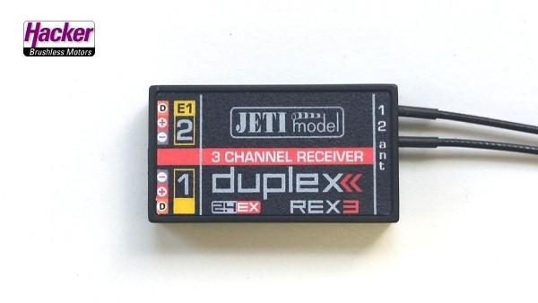 JETI Duplex 2.4EX Empfänger REX3