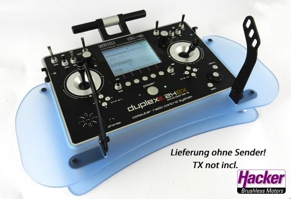 JETI Duplex Pult (Acryl-blau) für DC-Sender