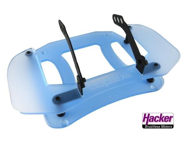 JETI Duplex Pult (Acryl-blau) für DS- Handsender