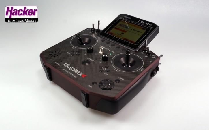 JETI Duplex Handsender DS-24 Dark Red Multimode