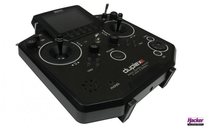 JETI Duplex Handsender DS-12 Schwarz Multimode