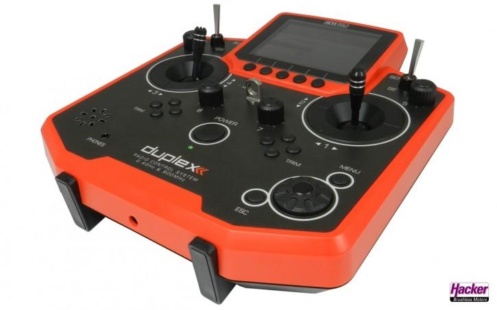 JETI Duplex Handsender DS-12 Rot Multimode