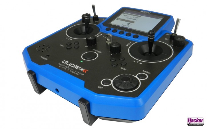 JETI Duplex Handsender DS-12 Blau Multimode
