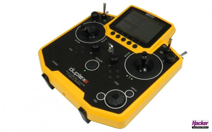JETI Duplex Handsender DS-12 Gelb Multimode