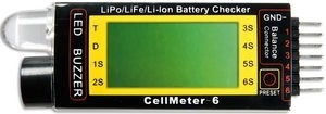 Lipo CellMeter-6 Lipo Check