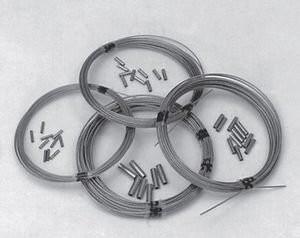 Stahlseil 0,85mm, (10Mtr.)