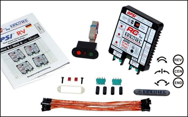 EMCOTEC DPSI RV Mini 5 Magic Schaltgeber Platine