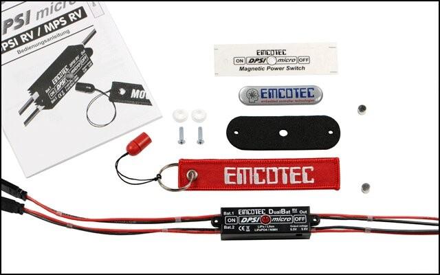 DPSI Micro - DualBat 5.5V / 5.9V JR
