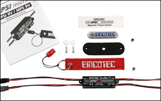 DPSI Micro - DualBat 5.9V / 7.2V MPX