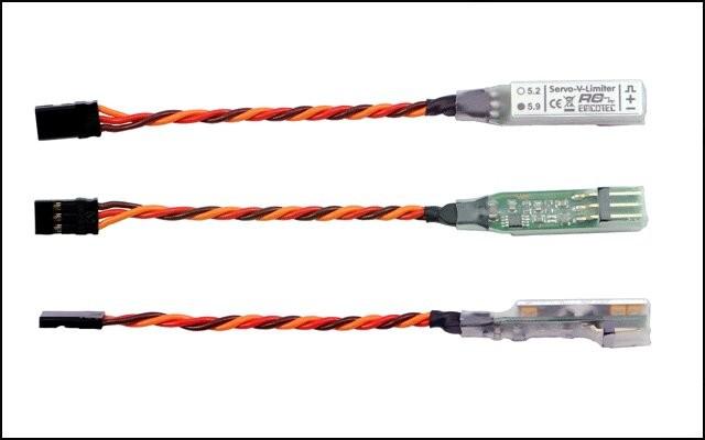 Servo V-Limiter 5,9 Volt 4 Watt