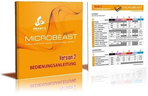 Bedienungsanleitung Microbeast V2, Deutsch