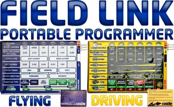 Castle Flield-Link Programmierkarte Phoenix