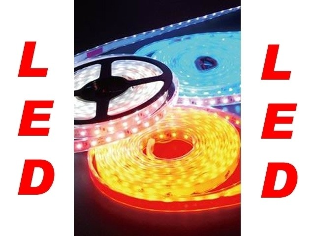 LED Leuchtband selbstklebend rot (1m)