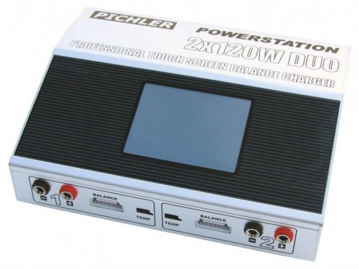 Pichler Ladegerät Powerstation 2x120W DUO