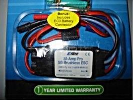 E-Flite EFLA1030 Pro 30A Brushless Regler, BEC