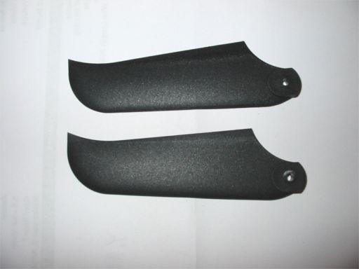 Heck-Rotorblätter, ALIGN, Kunststoff, schwarz 600