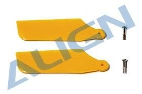 Heck-Rotorblätter, Kunststoff, gelb