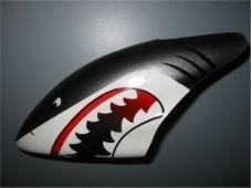 Canopy Haube Shark Grau
