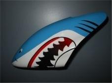 Canopy Haube Shark Hellblau