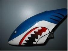 Canopy Haube Shark Dunkelblau